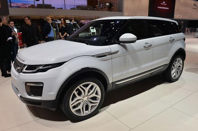 Xe Range Rover Evoque siêu tiết kiệm nhiên liệu 04