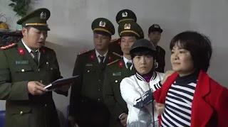 Chị Trần Thị Nga bị đánh gãy cả chân cả tay…