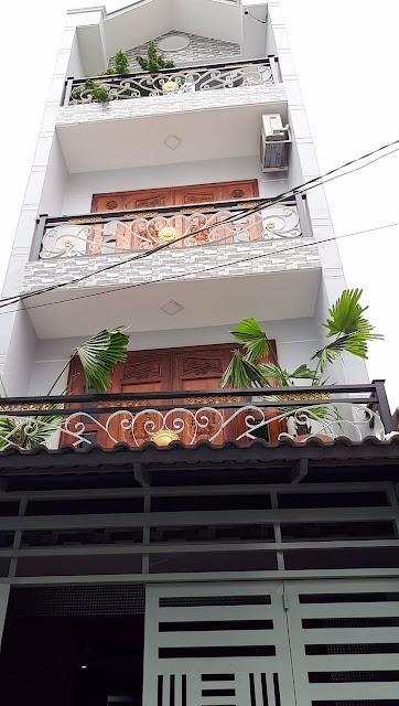 Bán nhà hẻm xe ô tô một sẹc Phường 15 Quận Tân Bình