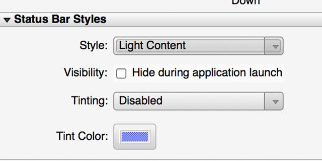 Random Wibblings: Xamarin Forms – A light status bar for iOS