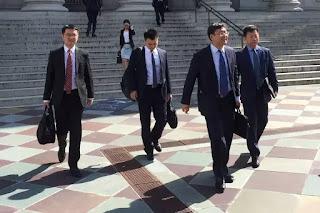 Đoàn đàm phán của Trung quốc ra về trắng tay trong cuộc đàm phán hồi Tháng Chín.