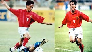 """Văn Sỹ Hùng, với biệt danh """"Little Boy"""" của bóng đá Việt Nam."""