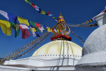 Obiective turistice Nepal: Templul Bouddha - Kathmandu