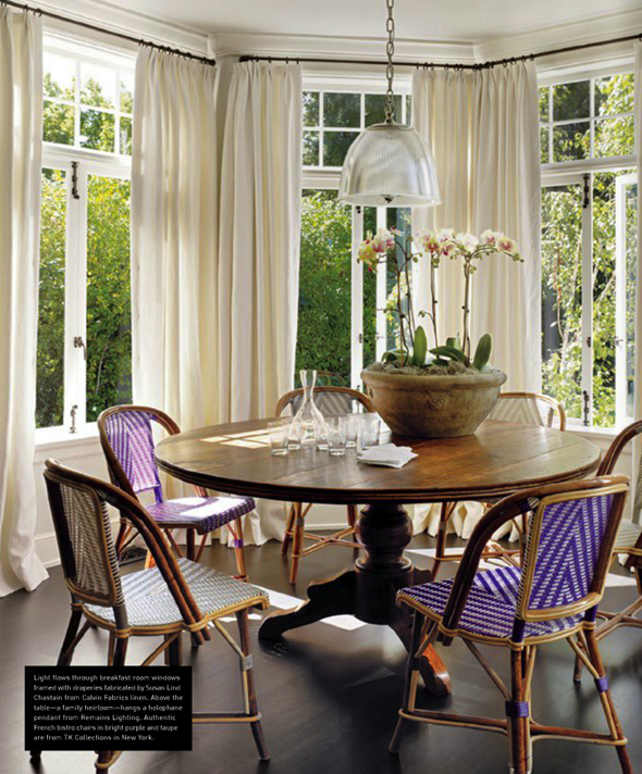 Classic House via La Dolce Vita | Bistro Chairs