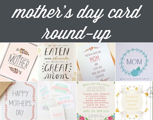 mother's day cards round up