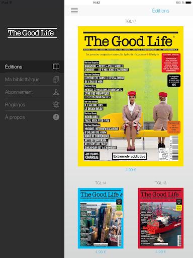 【免費書籍App】The Good Life-APP點子