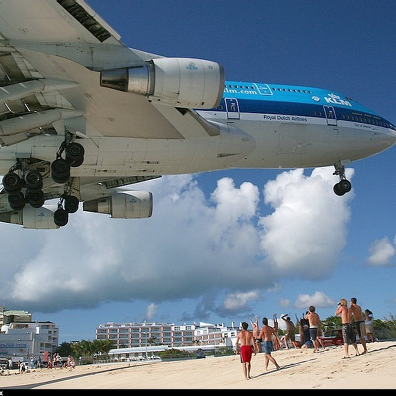 Strange Airport #4: Princess Juliana Airport and Maho Beach