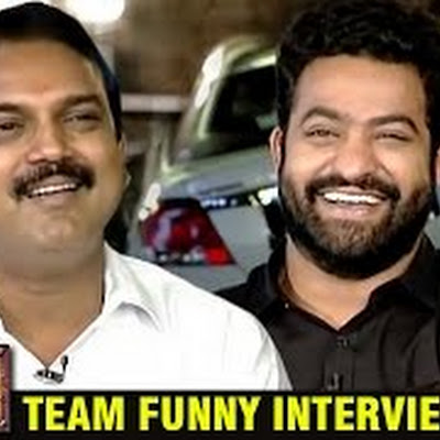 Our Janatha Garage team funny interview