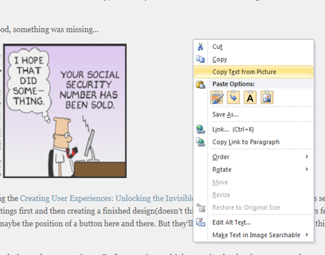 The art of simplicity: Coolest OneNote feature EVER: search text in