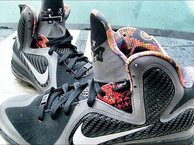 new product 9c69a be9be First Look Nike LeBron 9 8220Black History Month8221 ...