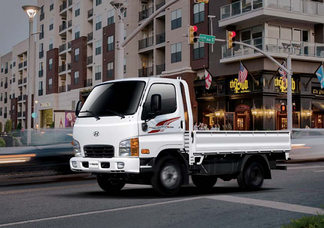 Hyundai N250 thùng lửng 2.5 tấn của Hyundai Thành Công lắp ráp