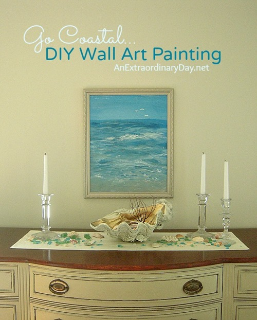 Go-Coastal-DIY-Wall-Art-Painting-AnExtraordinaryDay.net_