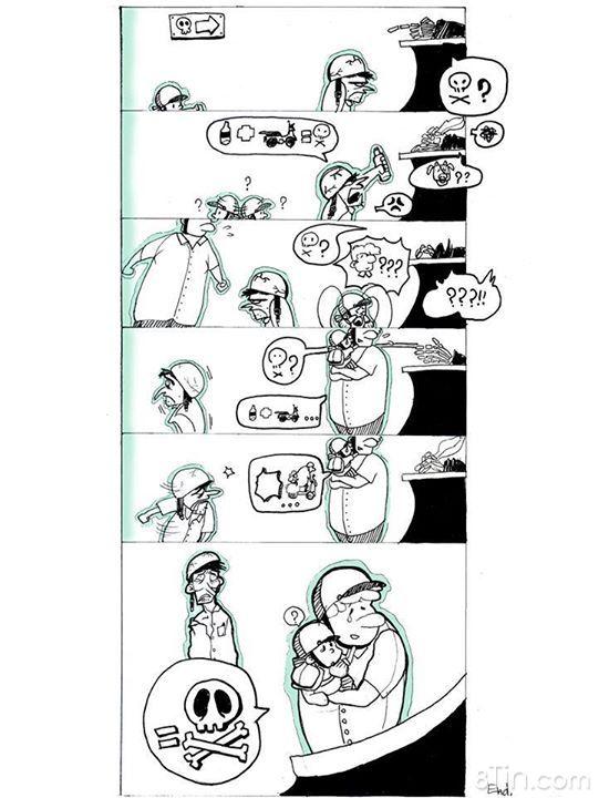"""[Tác phẩm truyện tranh dự thi """" ĐÃ CÓ CỒN – ĐỪNG"""