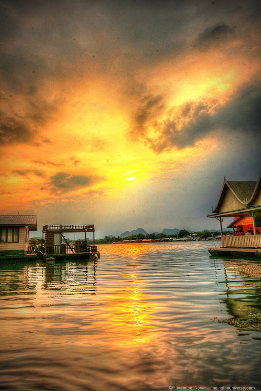 Sunset river kwai 2