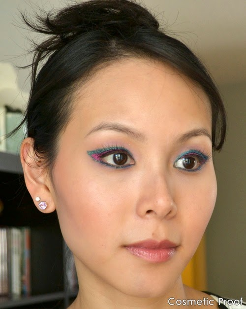 shu uemura Drawing Pencils Eye Makeup Look (2)