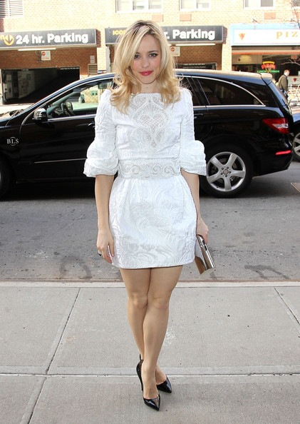 Rachel McAdams Out NYC