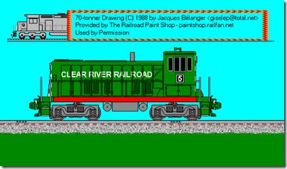 TrainPages: Fictional Railroad Paint Schemes