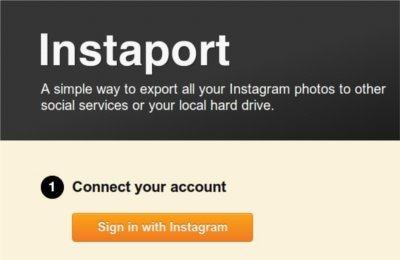 Instagram con instaport