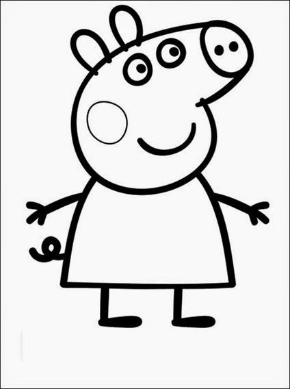 Peppa Pig Para Colorir Alphamaes