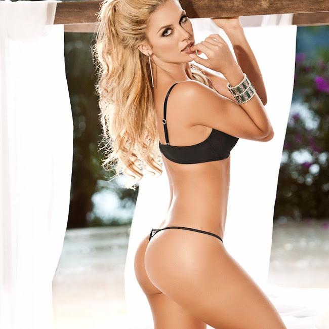 Lina Posada Sexy Fotos Catalogo Besame 2012 Foto 39