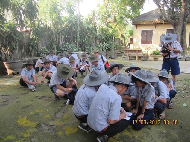 TraiDungThuaThioem2013 04 BHD GĐPT Thừa Thiên tổ chức Trại Dũng năm 2013