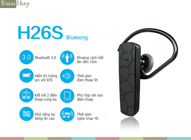 Bluesong H26S+