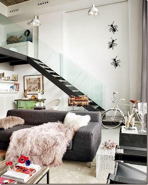 Elegant-two-level-loft-Madrid-4