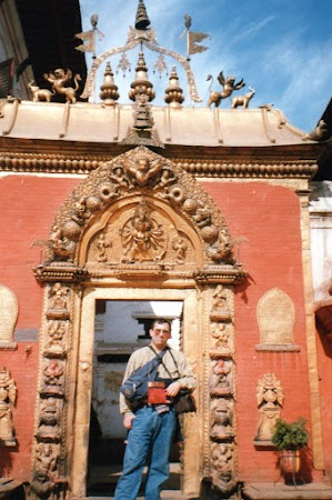 Obiective turistice Nepal: Poarta de Aur Bhakatapur.jpg