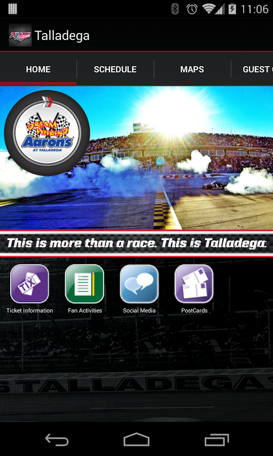 Talladega Superspeedway - screenshot