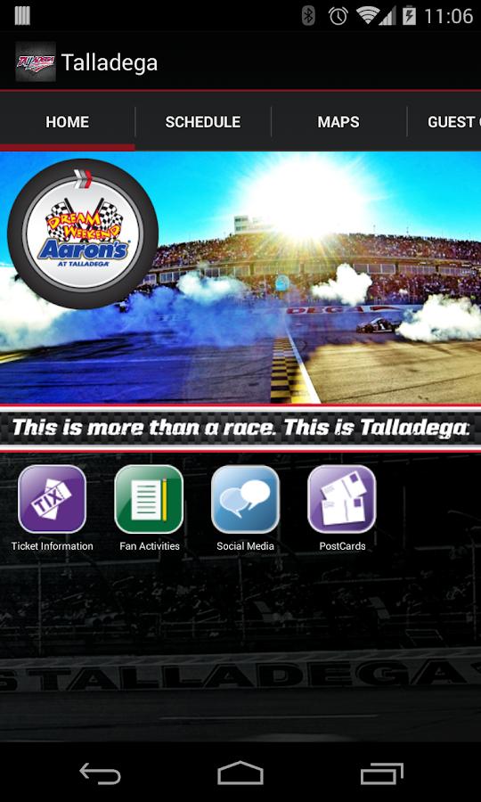 Talladega Superspeedway - screenshot