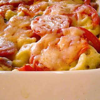 Tuscan Macaroni and Cheese Bake.