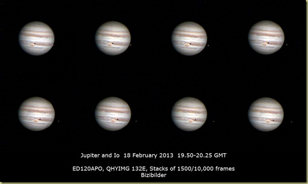 18 February 2013 Jupiter and Io