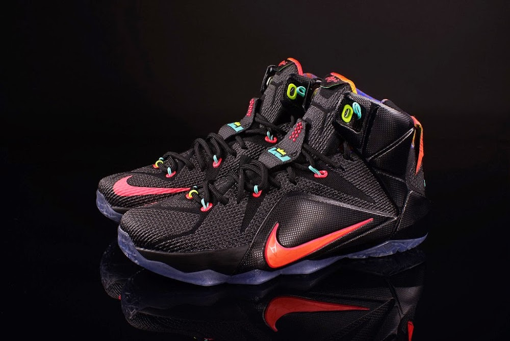 new style 57c8b d7947 ... Release Reminder Nike LeBron 12 8220Data8221