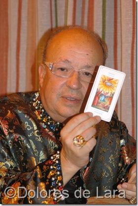 Rappel nos enseña una de las cartas de su tarot