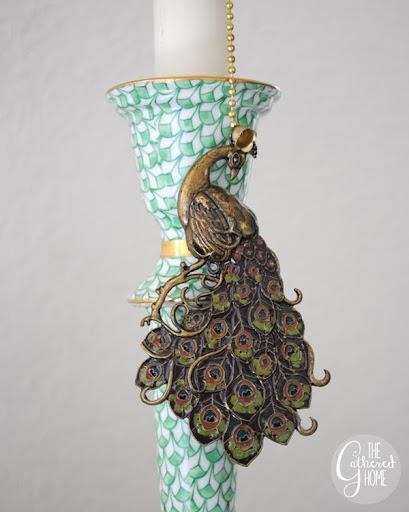 Peacock Lamp700 4