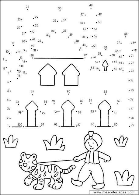 Dibujos Para Repasar Puntos Y Numeros