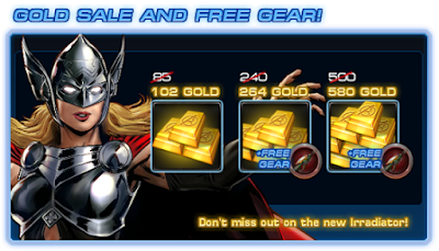 Attention Agents Get the new Irradiator weapon with select gold sale bundles