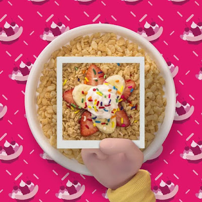 What do you call Rice Krispies with unexpected pops of ingredients Pop