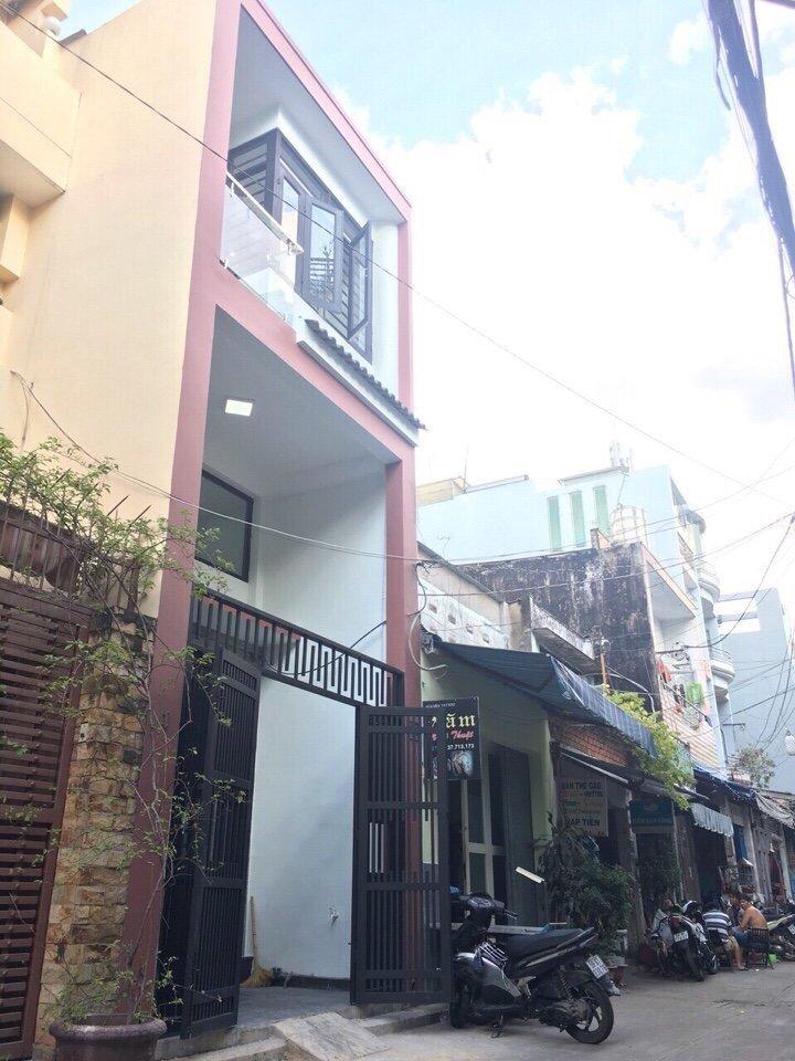 Bán nhà hẻm Khuông Việt Quận Tân Phú, diện tích 3,8m x 17,35m , 1 trệt 2 lầu, Giá 6.3 tỷ 2