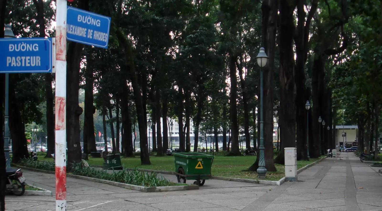 Đường Alexandre de Rhodes - Ảnh: C.M.C.