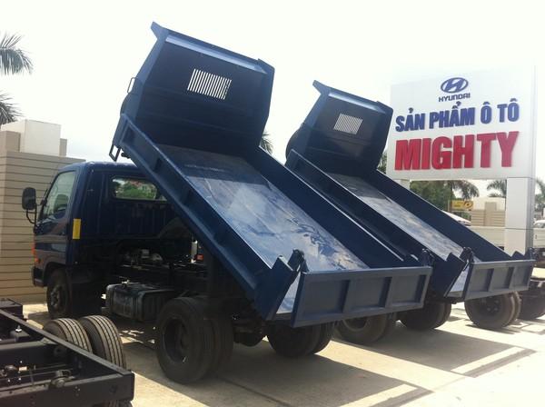Xe ben Hyundai 3.5 tấn nhập khẩu nguyên chiếc