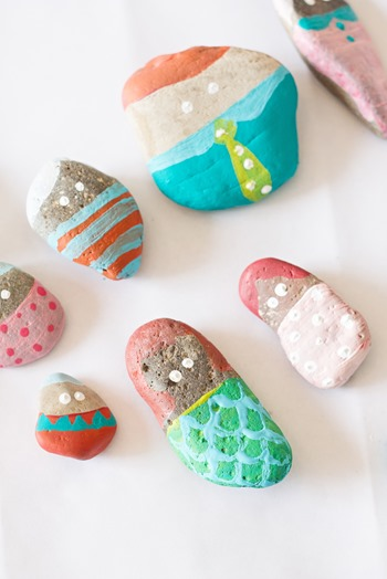 Rock Painting Ideas, Kids Craft Ideas, Toddler Activity