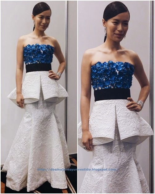 Rebecca Lim attended the 2014 Star Awards3