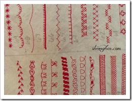 sampler close up 1
