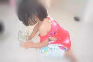 Gia đình cho biết từ khi xảy ra vụ việc, bé Phạm Ngọc L có nhiều biểu hiện hoảng loạn.