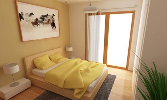 Dise os de dormitorios para apartamentos peque os idecorar for Colores para apartamentos modernos