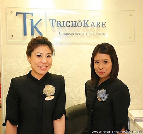 TrichoKare Singapore European Herbs luxury therapeutic pampering spa quality effective treatments healthy scalp lustre hair location Wheelock Place, Novena Square Clementi Mall blissful and aromatic relaxing therapeutic session