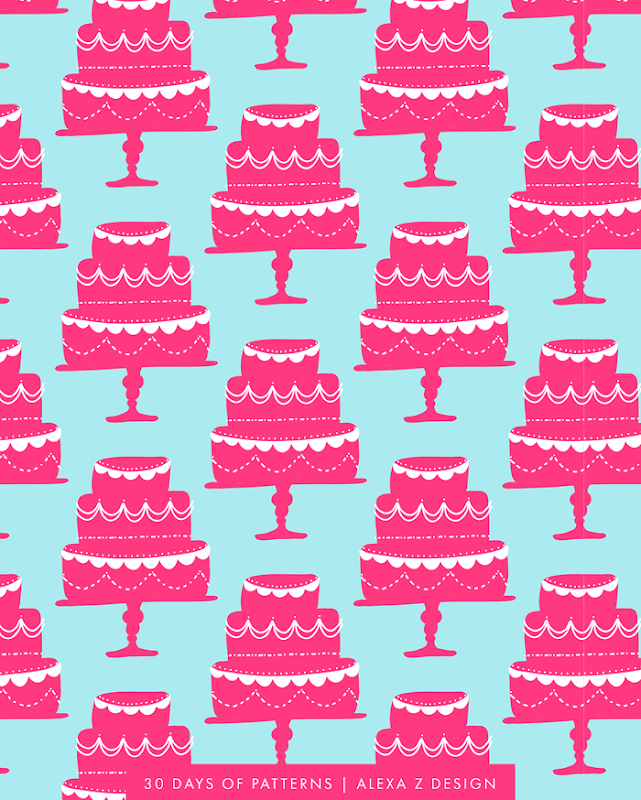 wedding cake pattern