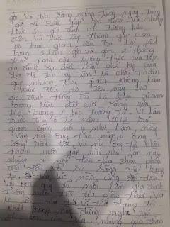 Con gái chú Vương Văn Thả cầu cứu cho cha
