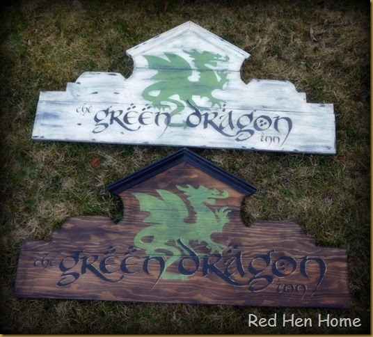 Red Hen Home Green Dragon Inn